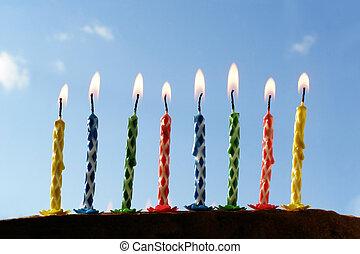 生日, 蜡燭