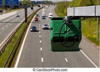 Traffic Management On The Motorway - UK motorway traffic...