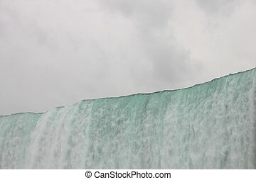 Niagara Falls Edge - Niagara Falls, from The Maid of the...