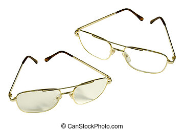 Reading glasses - with clipping path
