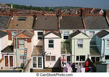 Victorian,  tenements
