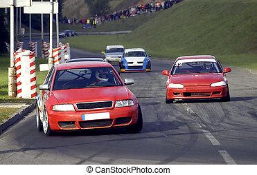 car race -            auto car race