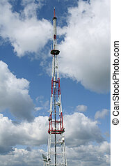 Telecommunications antenna - Radio tower or a...