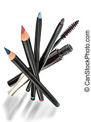 Pencils_1 - Cosmetic products, pencils of the first quality...