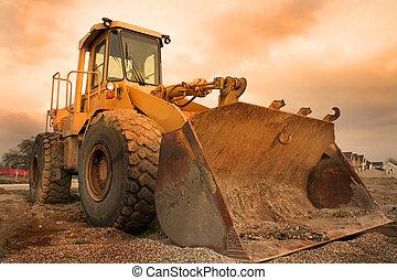 construcción, equipo