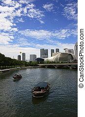 Esplanade Singapore - Esplanade, a landmark building in...