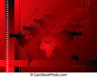 global background red