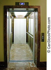open lift in elit living house