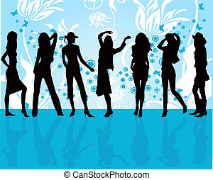 Fashion Girls - illustration