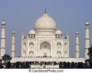 Taj Mahal - The Taj Mahal is a mausoleum located in Agra,...