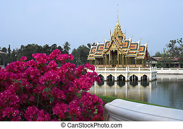 Bang Pa In Summer Palace Bangkok Thailand