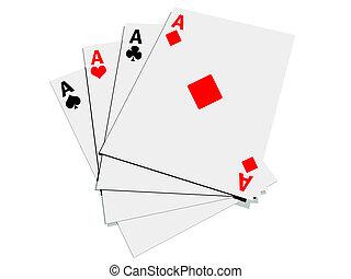 card - four card