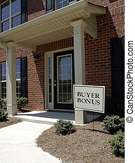 Realty Sign - Buyer Bonus - Realty Sign advertising a Buyer...