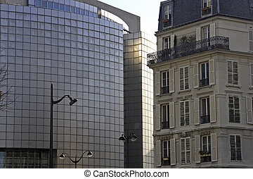 Paris the old and new - Parisian architecture a class old...