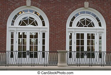 Two Arched doors - Fancy arched doors and windows