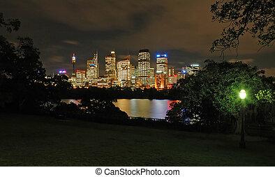 night sydney
