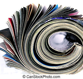 magazine - close up of a magazine