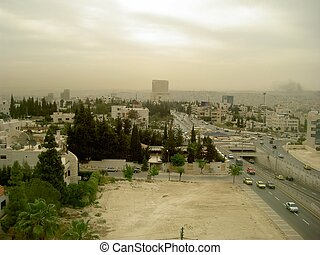 amman - the city of Amman in Jordan, middle east