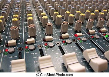 Mixer / Mixing Board - Here is a sound man\\\'s view of a...