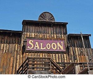 Saloon - old barn style saloon of western days