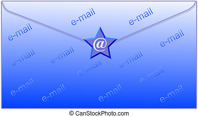 envelop and email symbol - email symbol and envelop -...