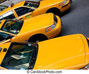 taxi cabs - New York taxi cabs