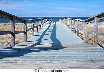 Boardwalk to Cranes Beach, Ipswich, MA