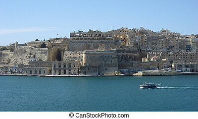 Waterfront of Valetta - Malta Valetta