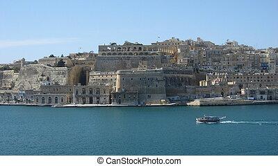 Waterfront of Valetta - Malta Valetta