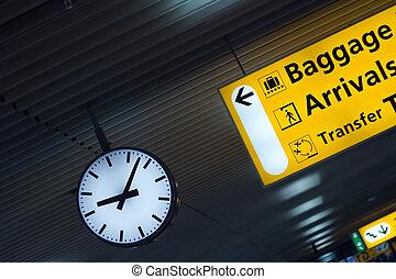 Abstrakcyjny, lotnisko, Rzeczy