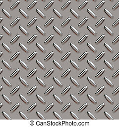 grey diamond plate - A grey diamond plate texture that can...