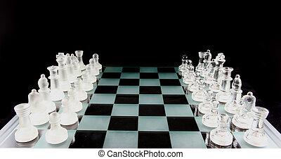 ajedrez, -, el, juego