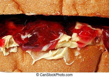 Peanut Butter and Jelly - Peanut butter and jelly sandwich....