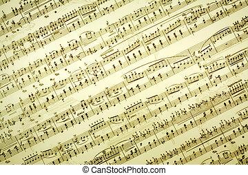 música, notas
