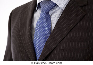 Businessman Suit - This is a close up of businessman wearing...