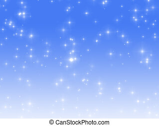 Christmas Background - Starry background ideal for seasonal...