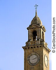 Clocktower - Medieval clocktower in Vittoriosa city, Malta