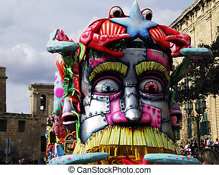 Carnival Float - Carnival Series - Images depicting the...