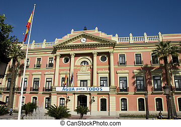 Murcia Building - A central Government Building in Murcia...