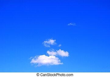 summer sky - blue summer sky
