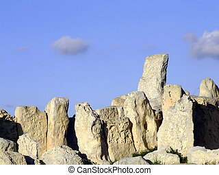 Neolithic Temple - The oldest free-standing buildingtemple...