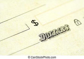 talao cheque