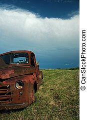 Abandoned Dodge Truck 5 - Abandoned Dodge Truck on the...