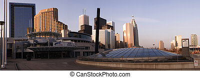 Toronto Panorama - A panorama of downtown Toronto, taken...