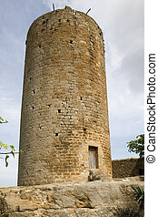 Tower in Pals, Catalonia