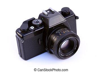 35mm old SLR camera - Old, traditional 35mm film SLR camera....