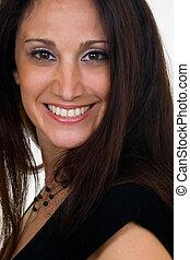 Hispanic Woman in her 30s
