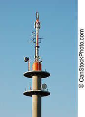 communication tower - communication antenna