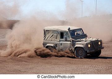 Desert Rally -  an Offroad Race