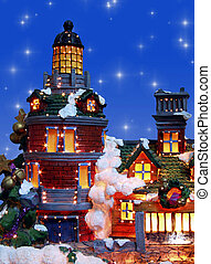 Silent Night - Typical Christmas House - actually a...